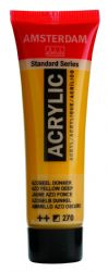 Amsterdam Standard Series Art Acrylic Paint Small Size tube 20 ml - Azo Yellow Deep